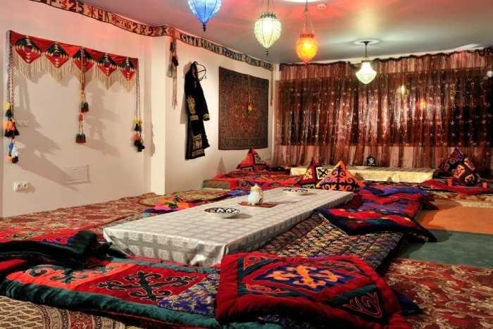 Интерьер дома в казахском стиле