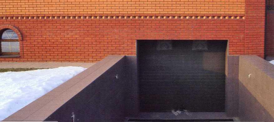 Проект цокольного этажа гаражом