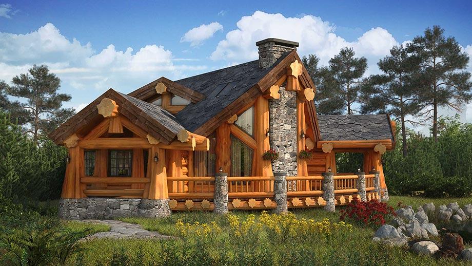 Русские деревянные избы
