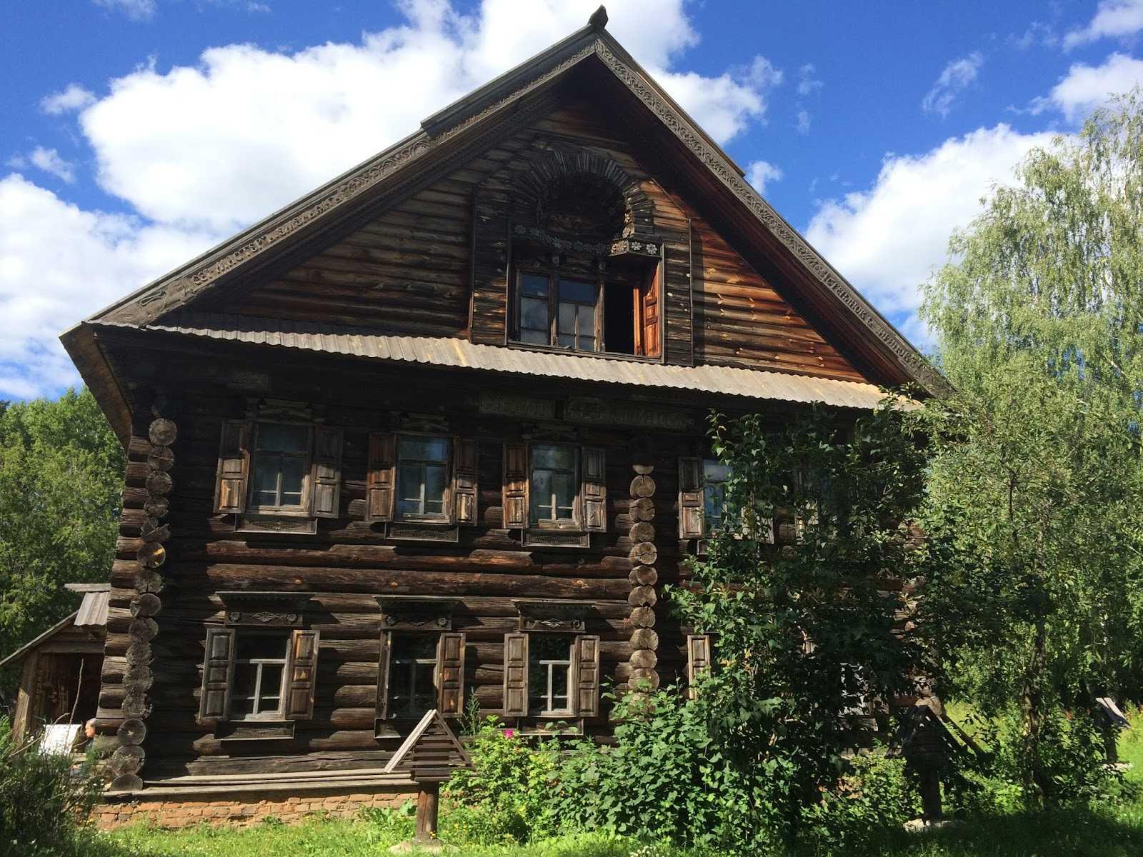 Строительство деревянных изб