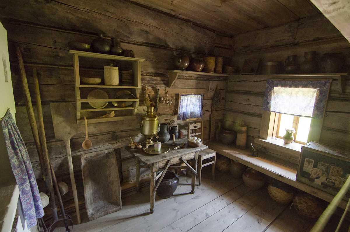 деревянные дома изба