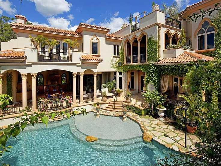 проекты домов +в итальянском стиле