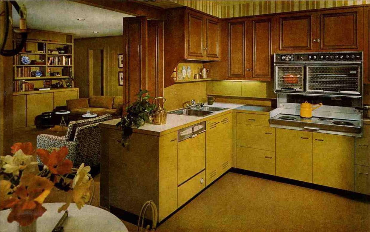 ректро кухня