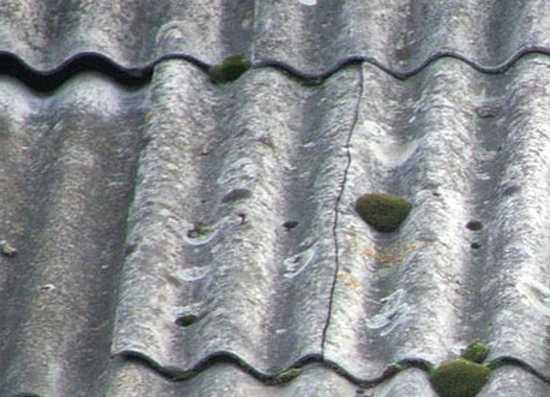 ремонт шиферной крыши частного дома