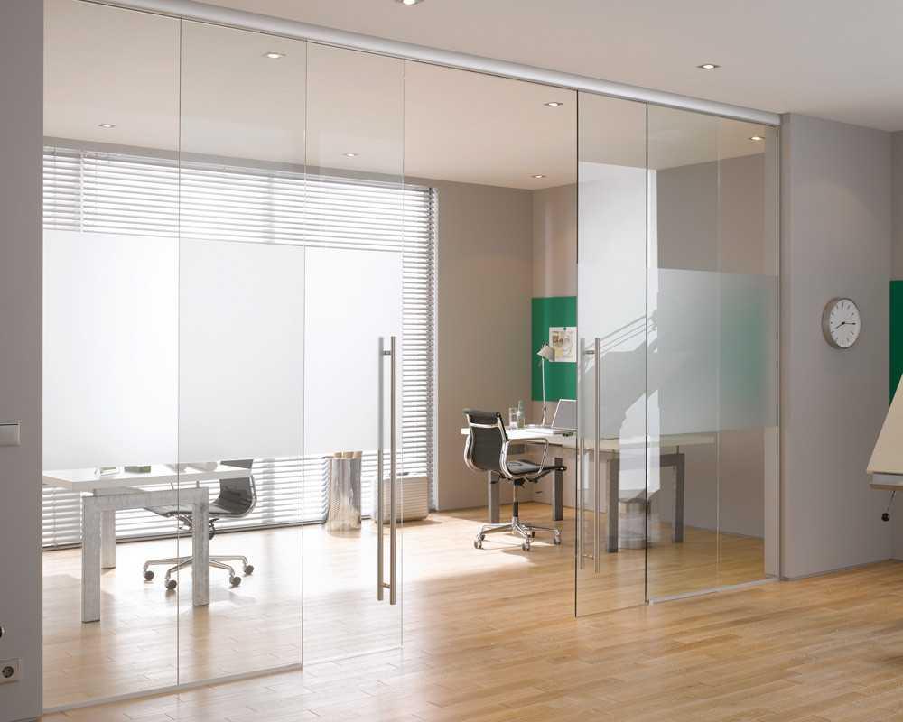 стеклянные двери в интерьере фото