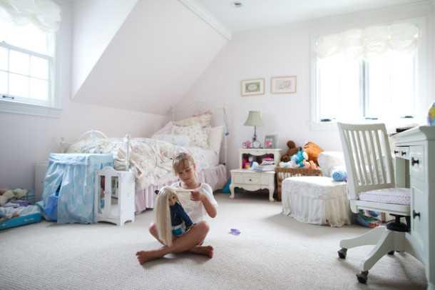 варианты обустройства детской комнаты