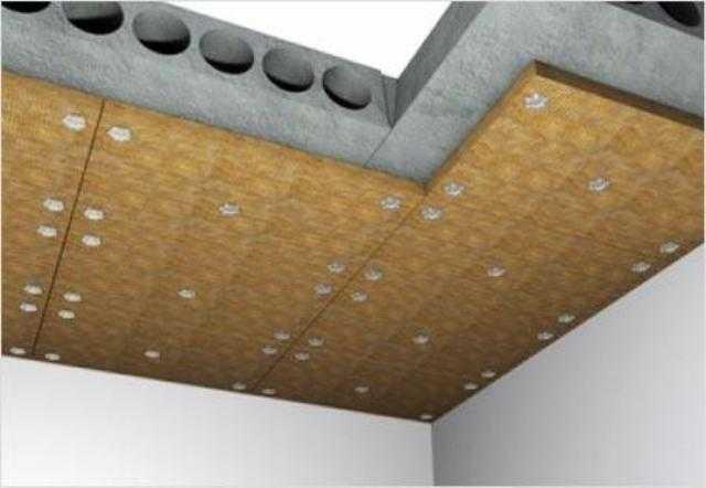 Утепление потолка минеральной ватой