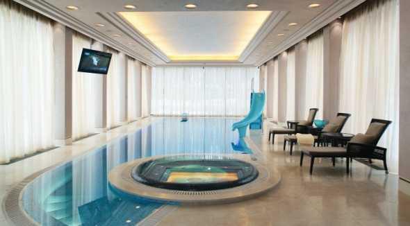 проекты домов с бассейном