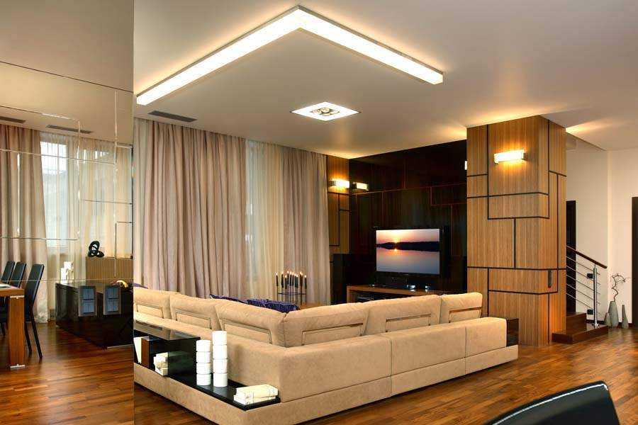 система освещения дома