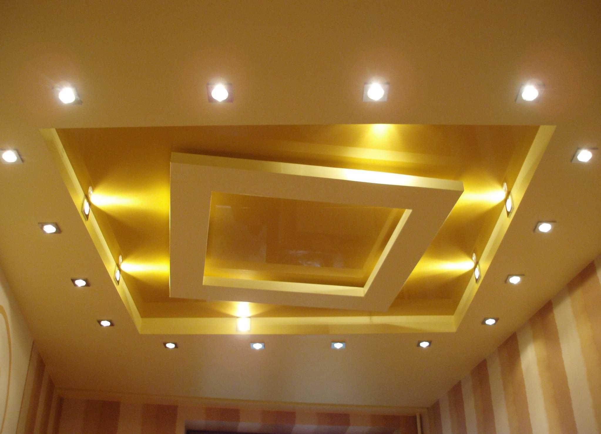 светодиоды в конструкции натяжных потолков