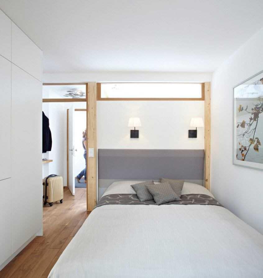 Светлый интерьер небольшой квартиры