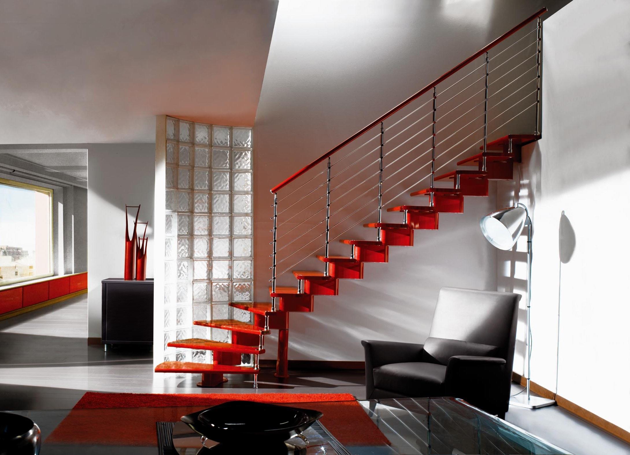 Модульные лестницы на фото
