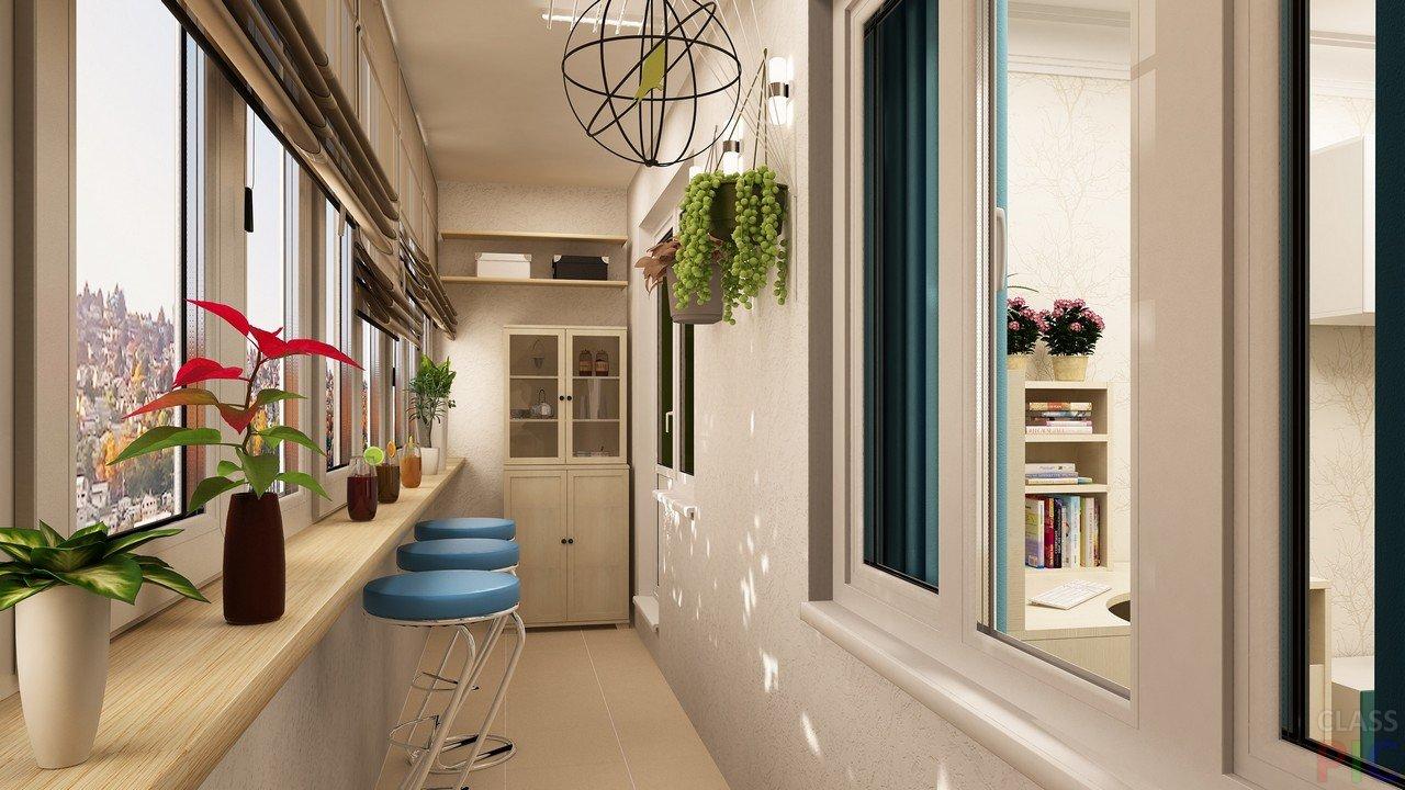 Дизайна балкона