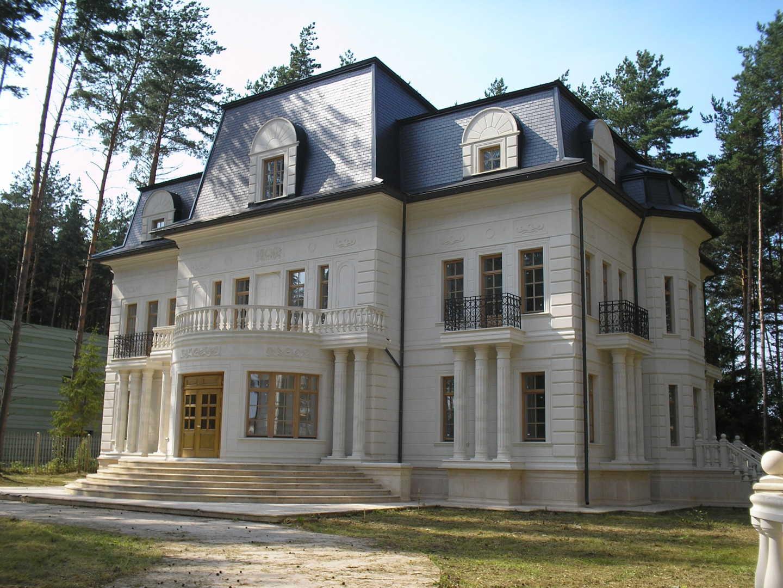 натуральный камень для облицовки фасада