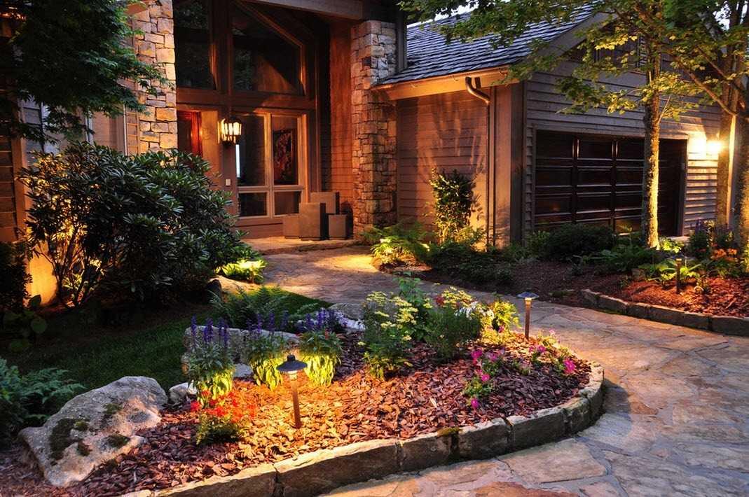 приборы для освещения сада