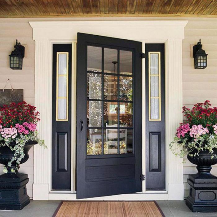 Особенности современных входных дверей