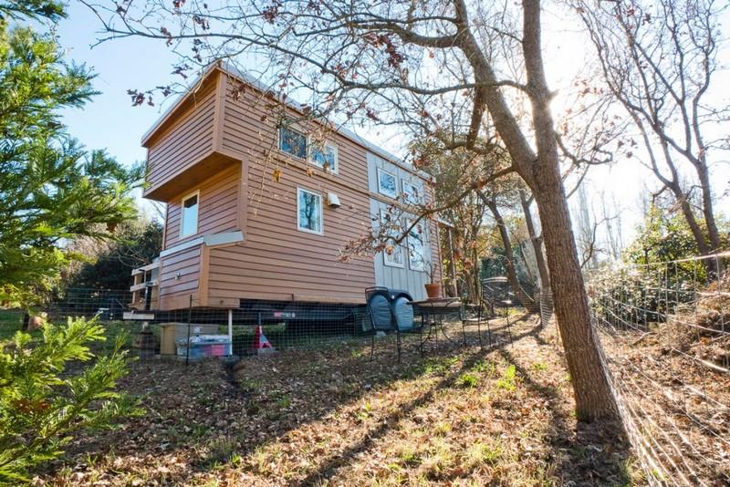 двухэтажный дом на колесах