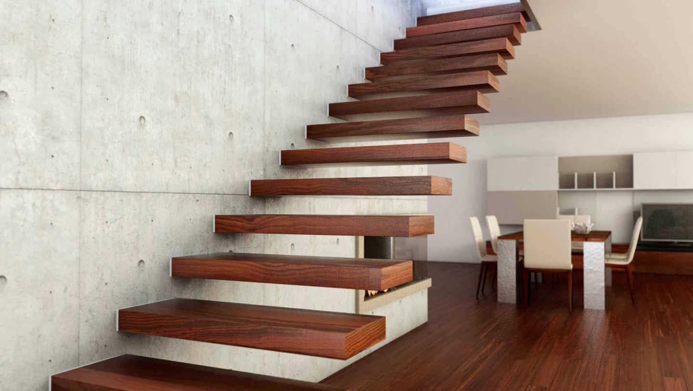 Заказать изготовление консольной лестницы