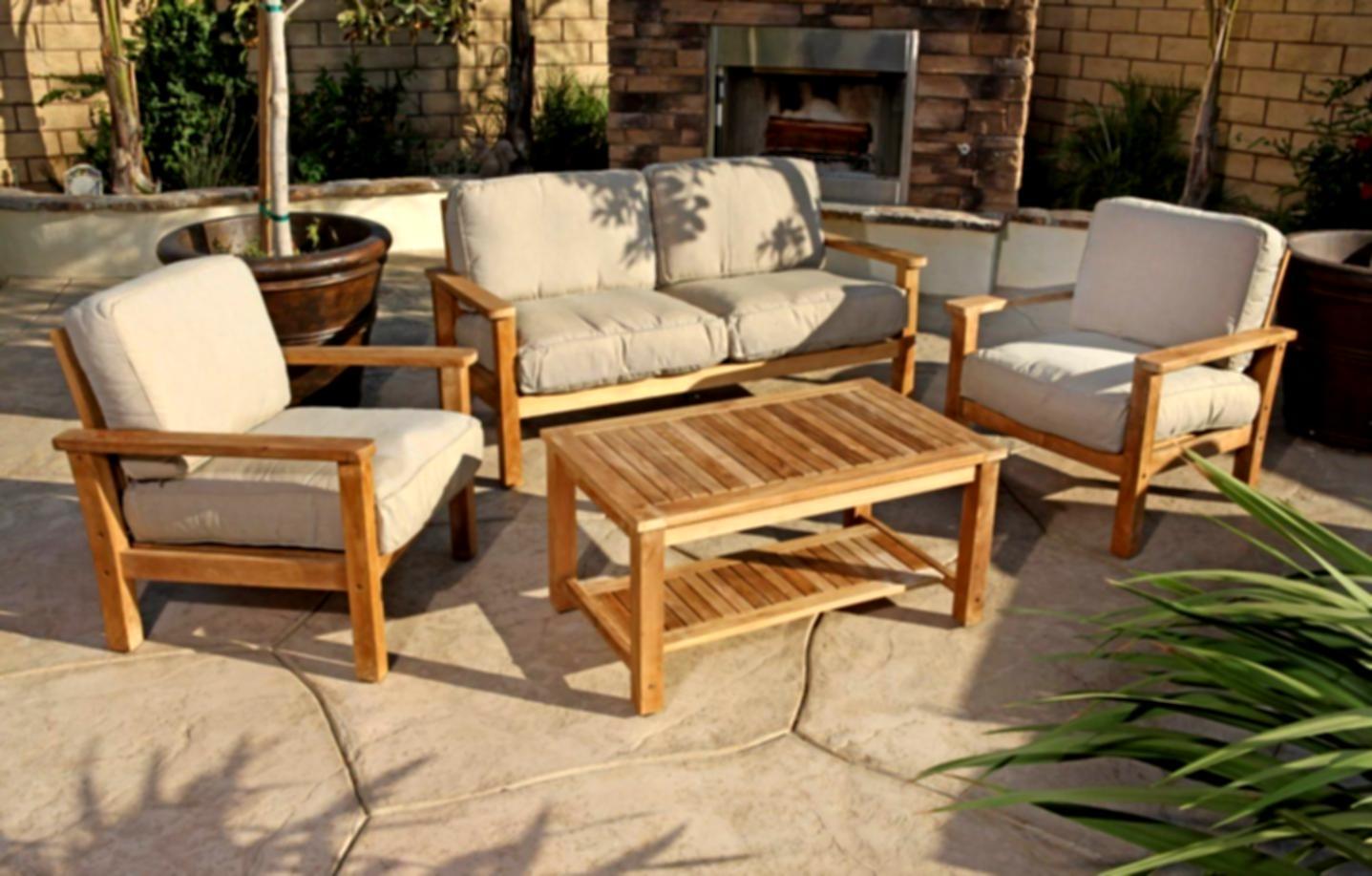 Особенности садовой мебели