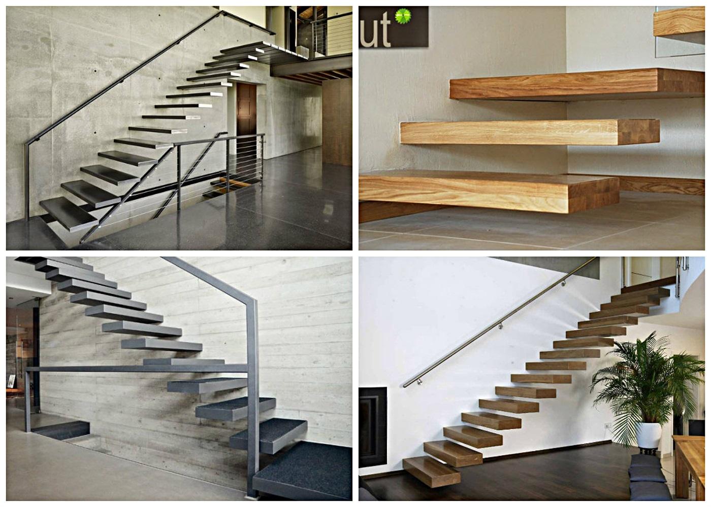 консольная металлическая лестница