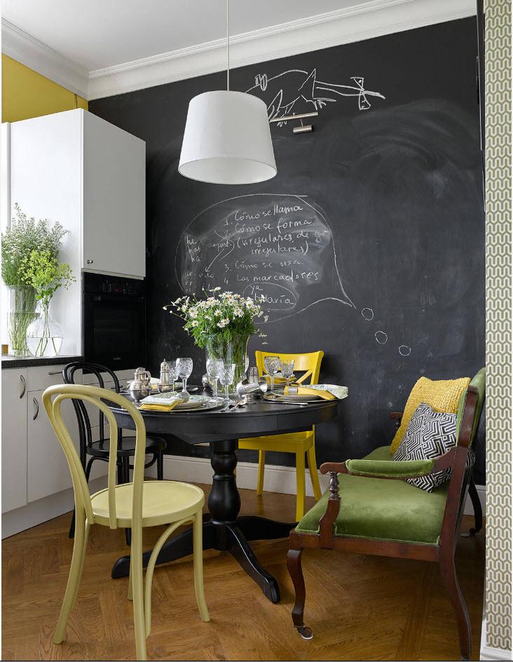 кухня частного дома