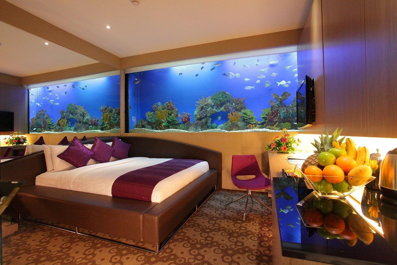 аквариум в гостиную