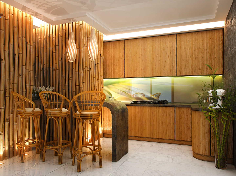 Бамбук как часть интерьера