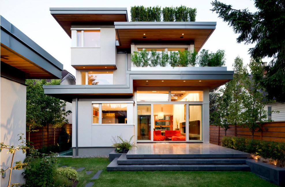Особенности проектирования хай-тек домов