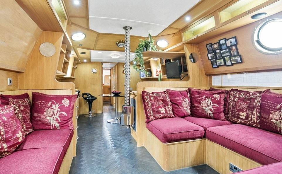 дом в лодке