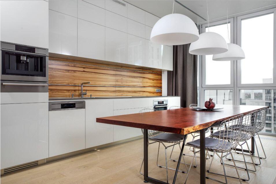 линейная кухня 5