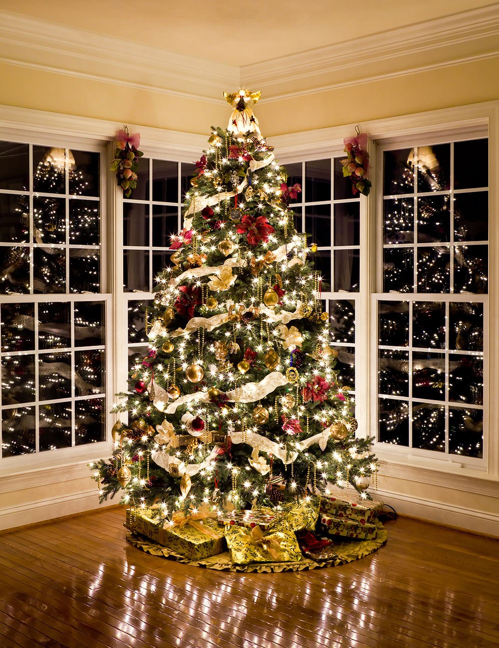 Как украсить елку к Новому 2018 году 2