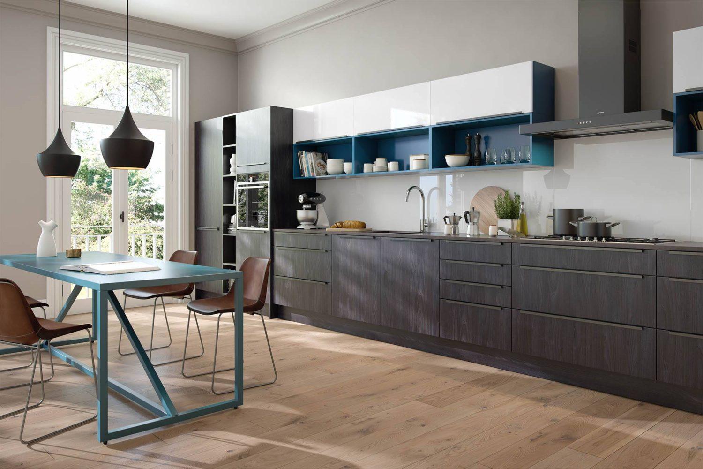 линейная кухня 1