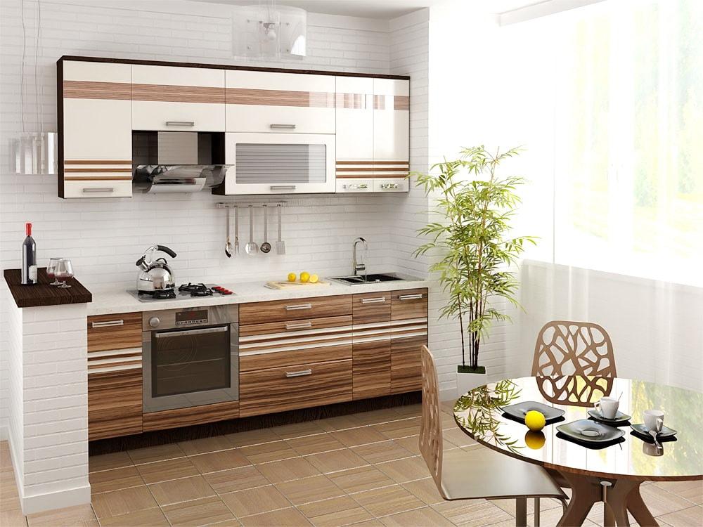 линейная кухня 8
