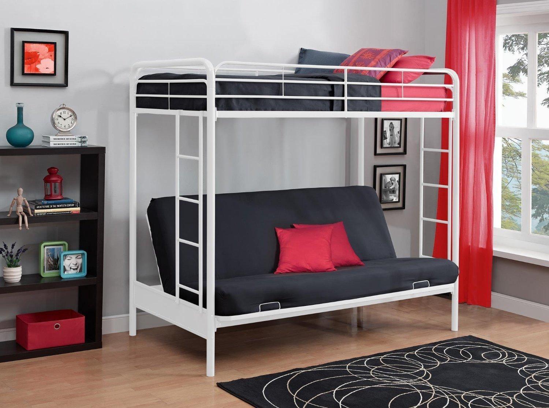 Двухъярусная кровать в интерьере 1