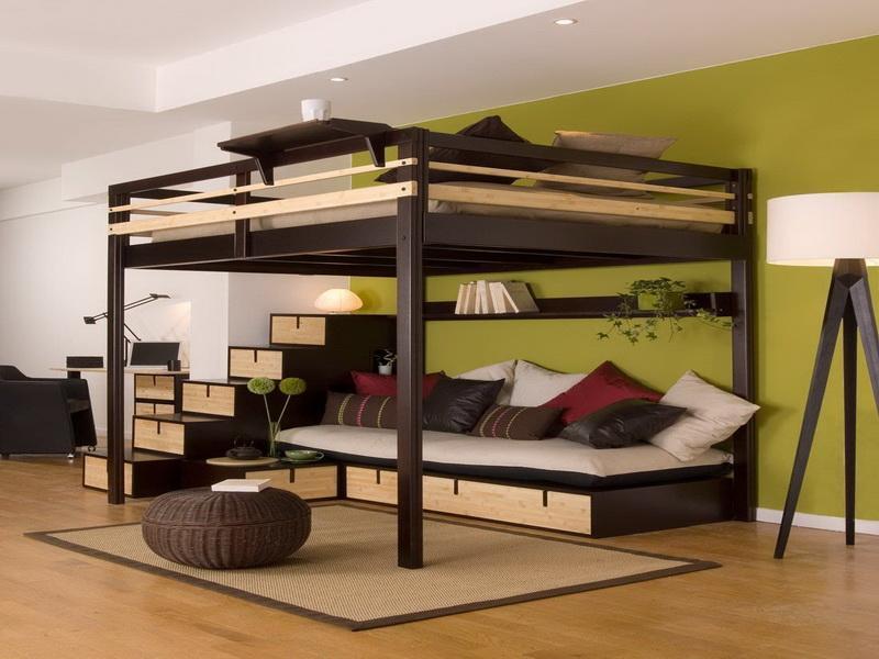Двухъярусная кровать в интерьере 2