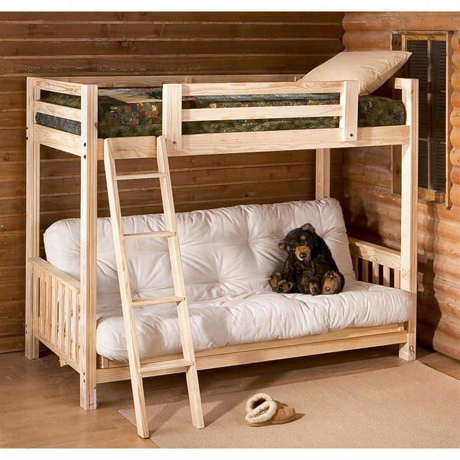 Двухъярусная кровать в интерьере 4
