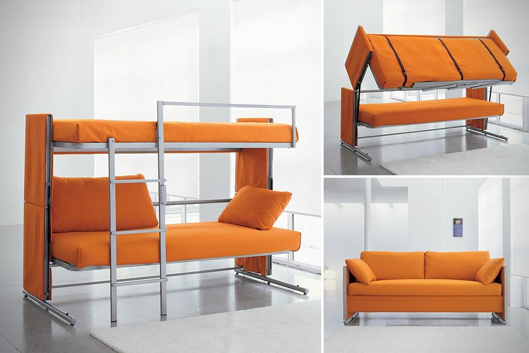 Двухъярусная кровать в интерьере 5