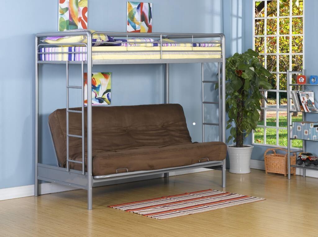 Двухъярусная кровать в интерьере 7