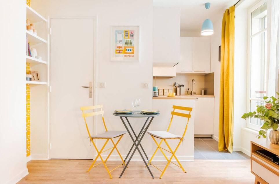 Кухня-гостиная 4