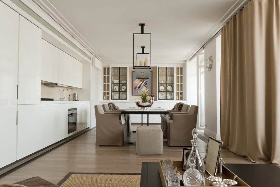 Кухня-гостиная 6