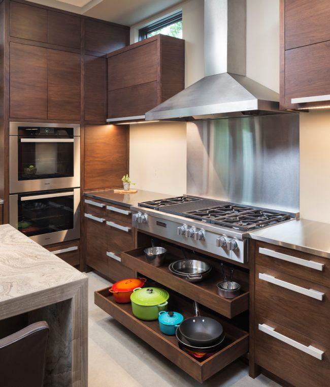 Обустройство маленькой кухни 10