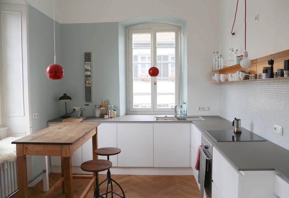 Обустройство маленькой кухни 12