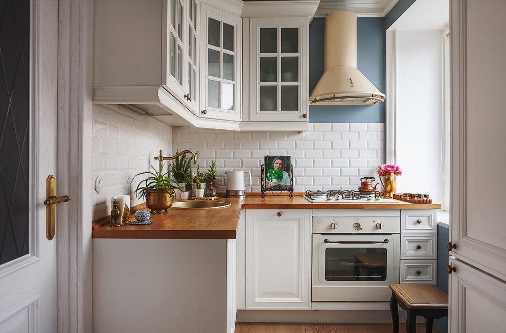 Обустройство маленькой кухни 6
