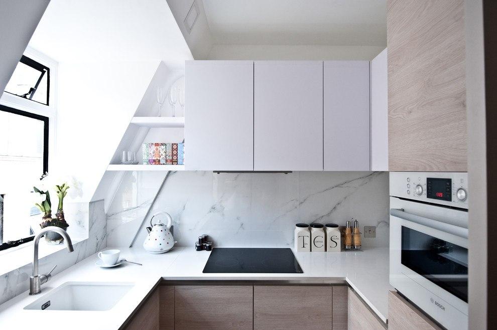 Обустройство маленькой кухни 7