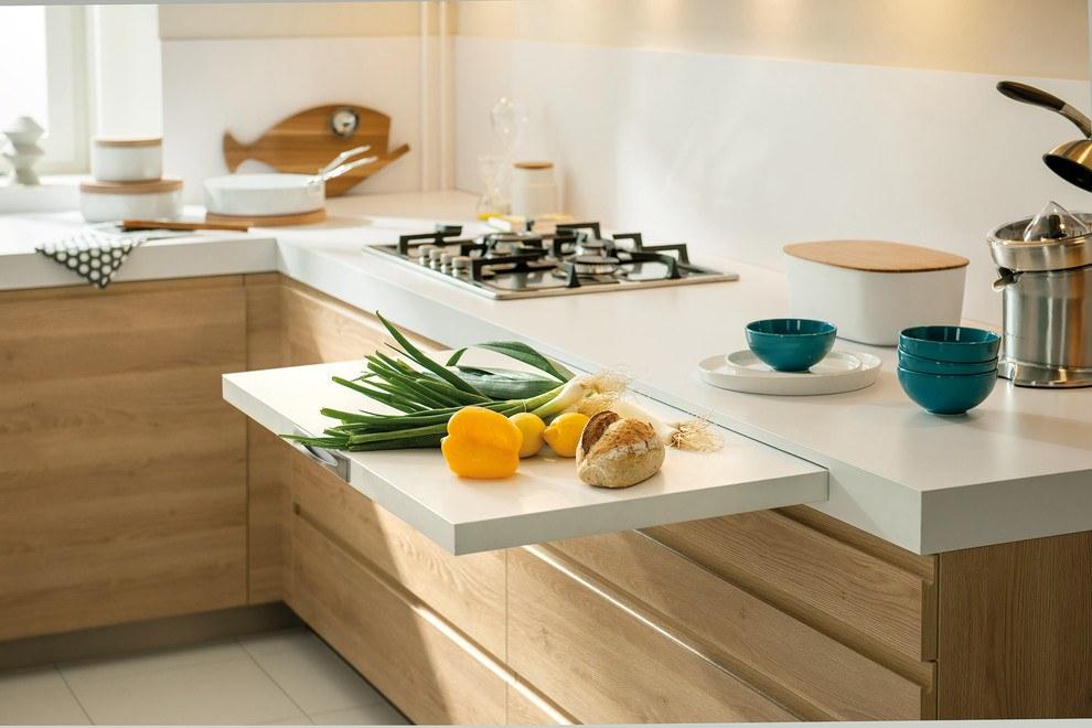 Обустройство маленькой кухни 9
