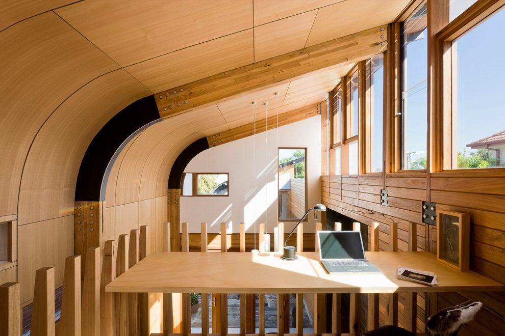 Потолок в деревянном доме 9