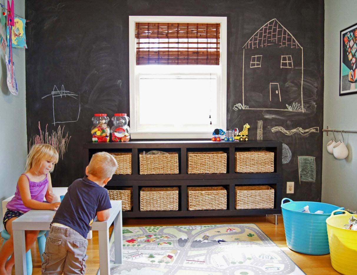 Системы хранения в детской 1
