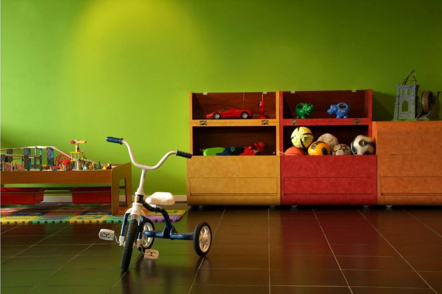 Системы хранения в детской 3