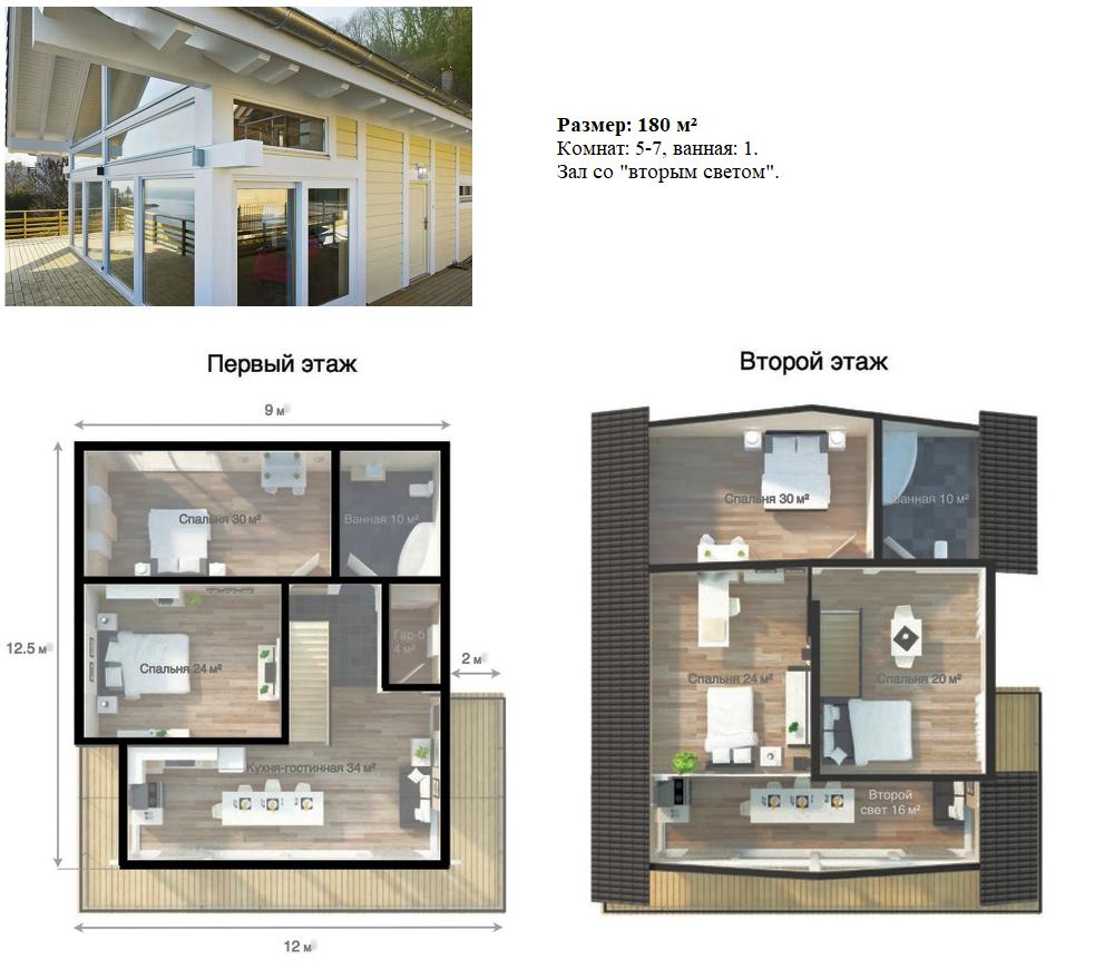 Фахверковые дома EcoComplect 6